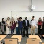 """شارك، في 17 و 18 أغسطس، أستاذ مساعد في جامعة دبي الدكتور نصر الدين محمد في مؤتمر """"أكاديمية إسطنبول الصيفيّة للقانون الدولي 2017""""."""