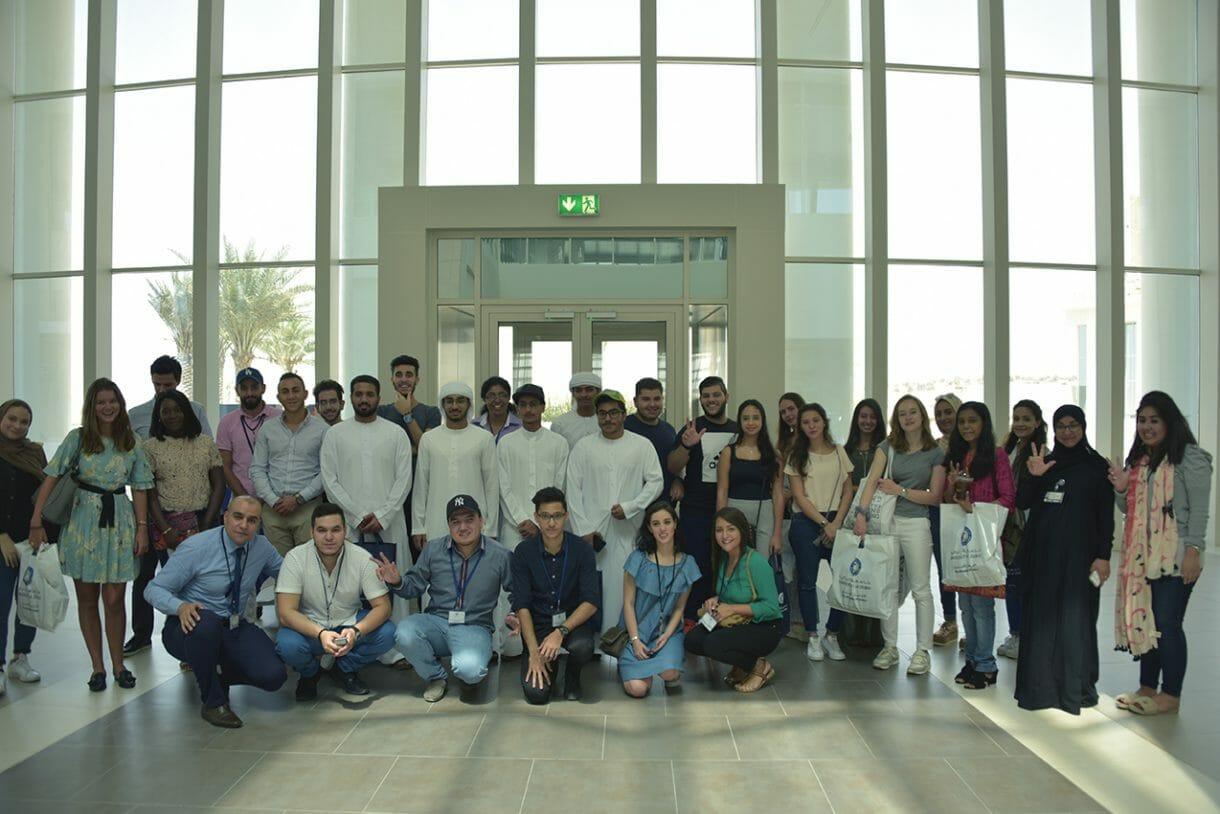 """شارك أكثر من 35 طالب وطالبة من مختلف الجنسيات في برنامج """"بدايات"""" للطلبة الجدد."""