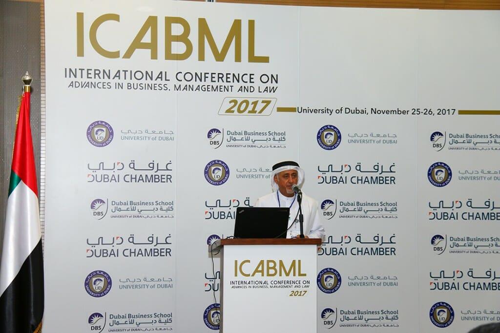 اختتمت جامعة دبي مؤتمرها الدولي الأول حول أهمية تطوير إدارة الأعمال والقانون يومي 25 و 26 نوفمبر الحالي.