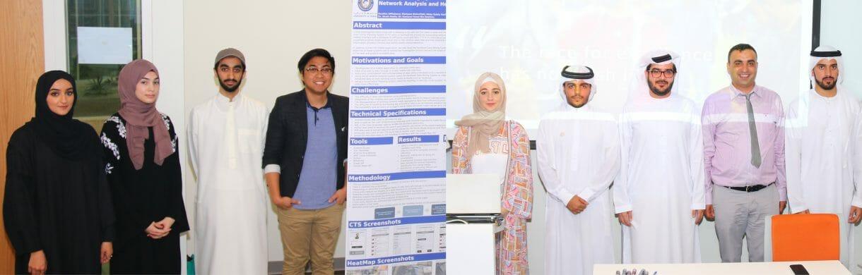 عاماً بعد عام، يثبت خريجو جامعة دبي جدارتهم وقدرتهم على تصميم ابتكارات تلعب دوراً رئيسياً في خدمة مجتمع دولة الإمارات العربية المتحدة وتتكيف مع التطورالتكنولوجي.