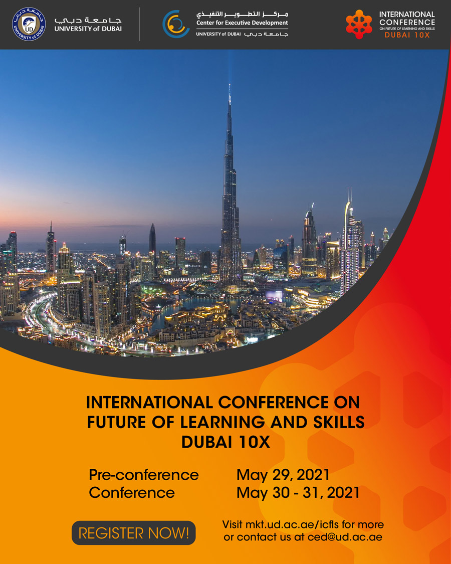 International Conference on Future of Learning and Skills - Dubai 10X