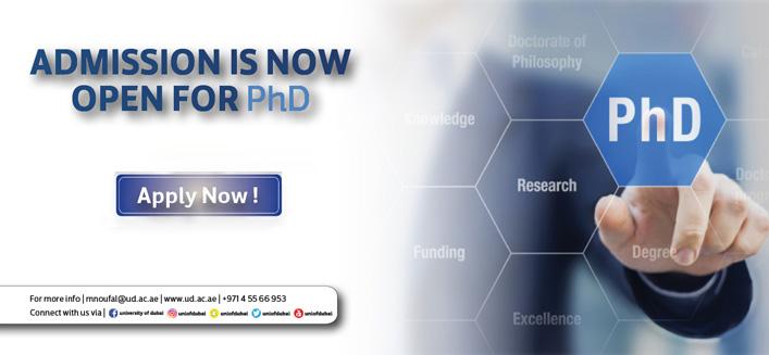 PhD Program - Step 1 - University of Dubai