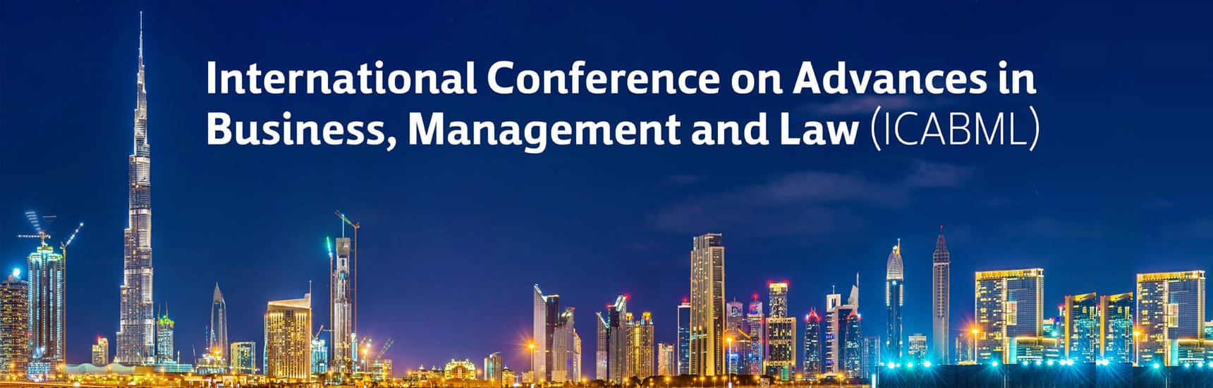 International Conference on Advances in Business Management and Law