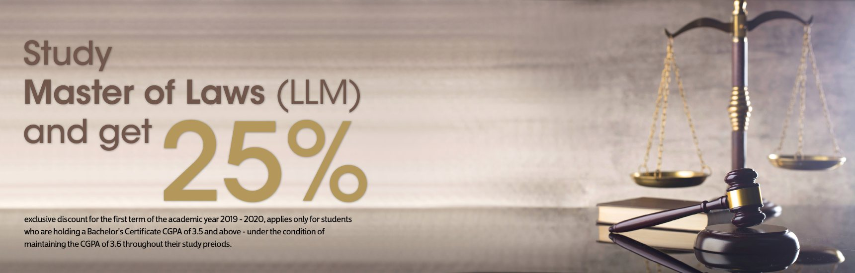 study master of laws(llm) and get 25%