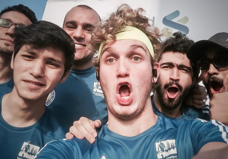 Dubai Marathon 2017 Selfie Export