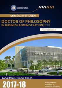 Doctor of Philosophy in Business Administration Handbook