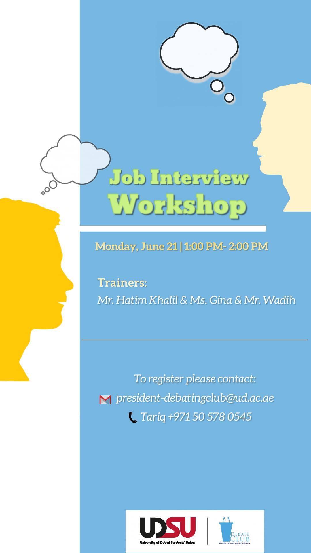 Job Interview Workshop