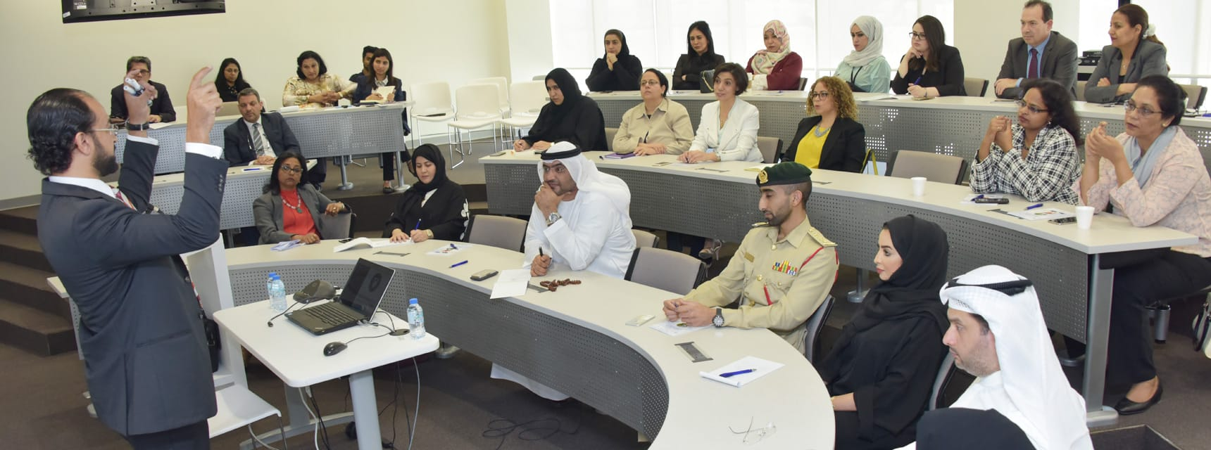 A Brainstorming Session on Happiness at University of Dubai